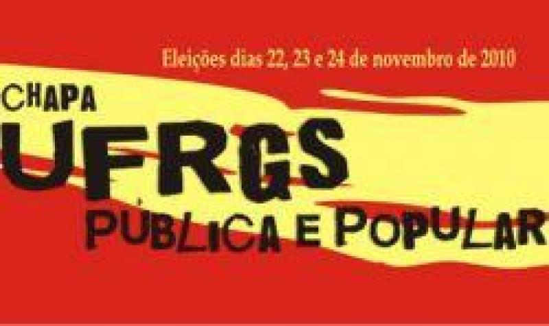 [Em defesa da legalidade das eleições para o DCE da UFRGS]