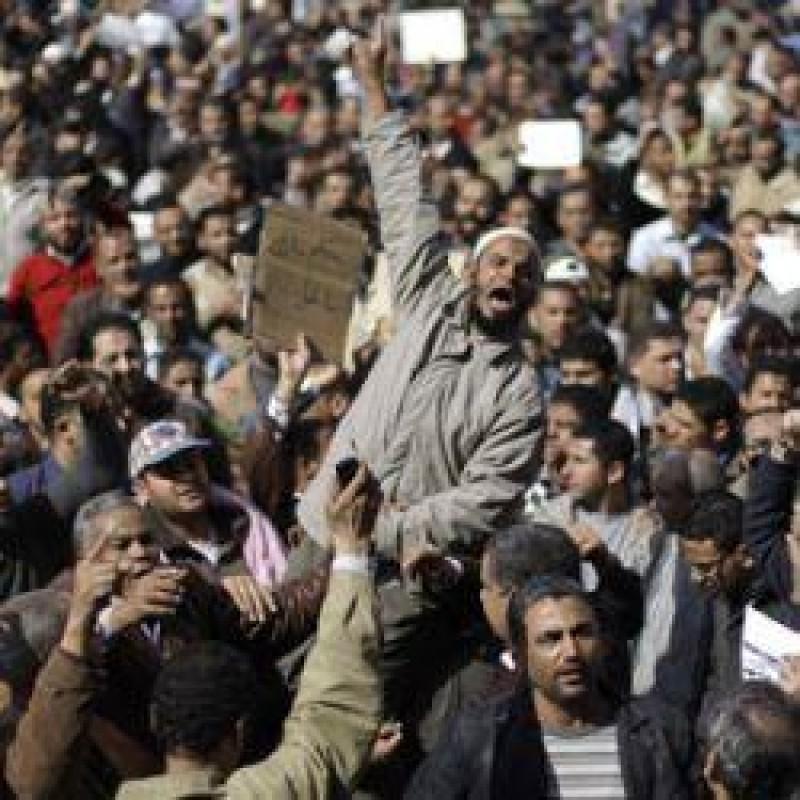 [Mubarak abandona o poder]