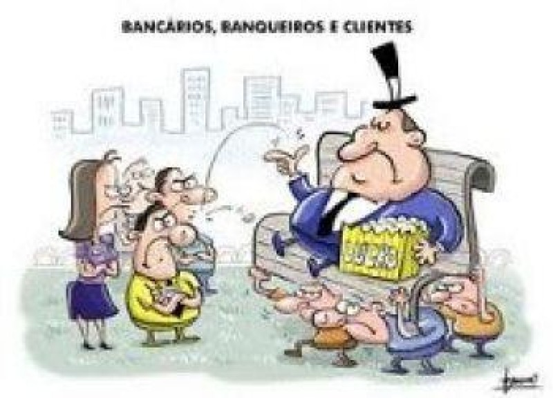[A quem agrada mais os 10,25%: aos banqueiros ou aos bancários?]