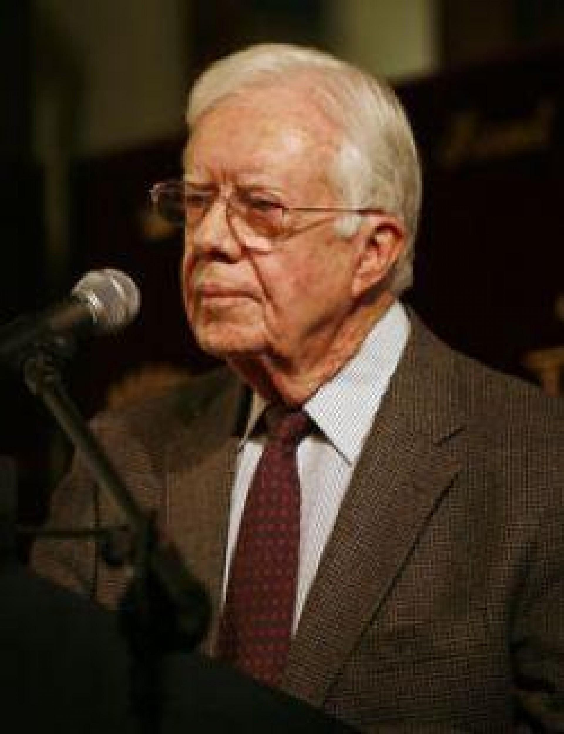 [Atilio Borón: Jimmy Carter: el proceso electoral de Venezuela es el mejor del mundo]