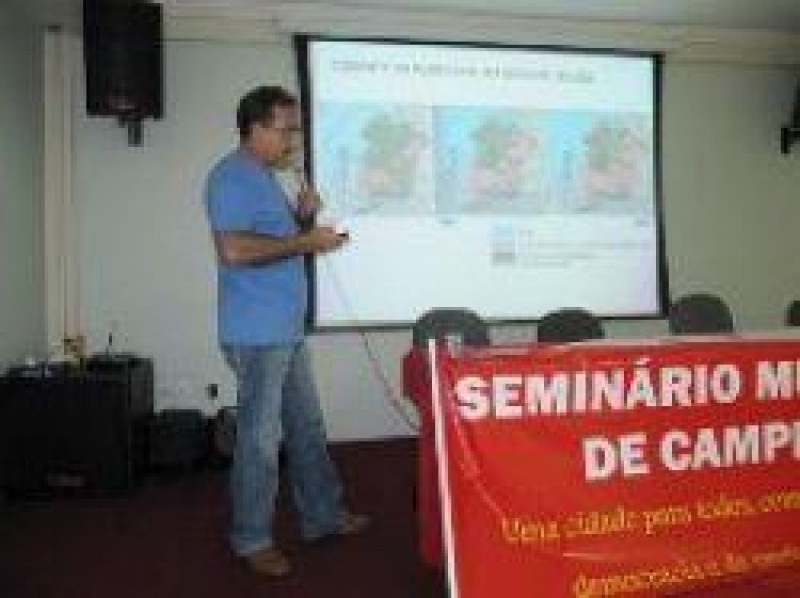 [Campinas: Edmilson dirigente do PSOL do Pará abre debate sobre Eleições 2012]