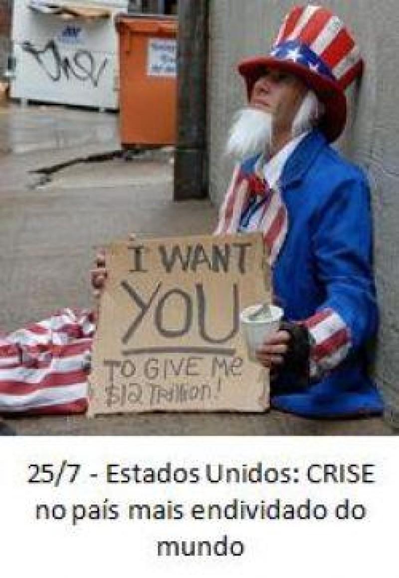 [Estados Unidos: crise no país mais endividado do mundo]