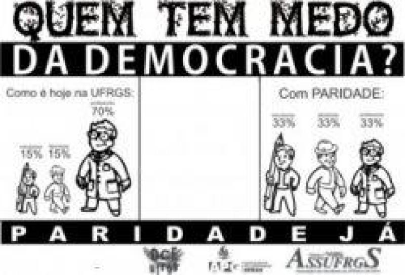 [Nota do DCE, ASSUFRGS e APG- Sobre eleições para Reitor da UFRGS]
