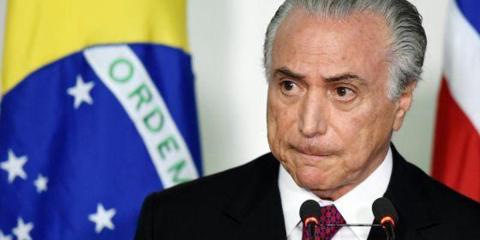 [Impeachment de Temer será protocolado pelo PSOL às 15h desta segunda-feira]
