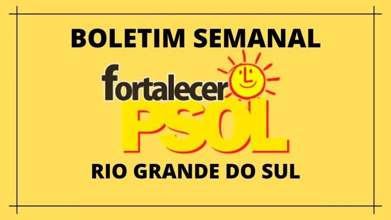 [Boletim Fortalecer  o PSOL RS N° 8]