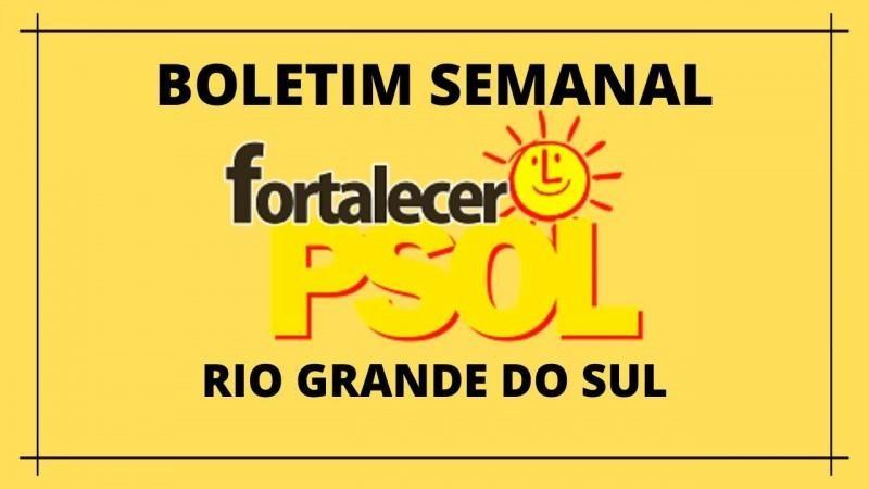 [Boletim Fortalecer  o PSOL RS N° 10]